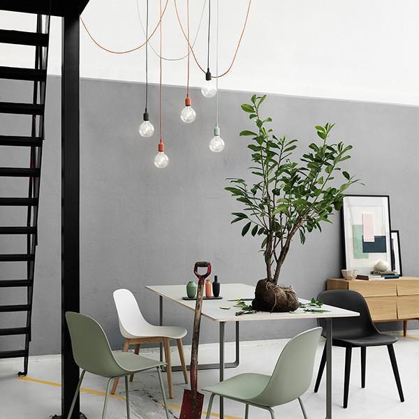 Muuto E27 Pendant Light By Mattias Stahlbom Dining Room Decor Interior Side Chairs