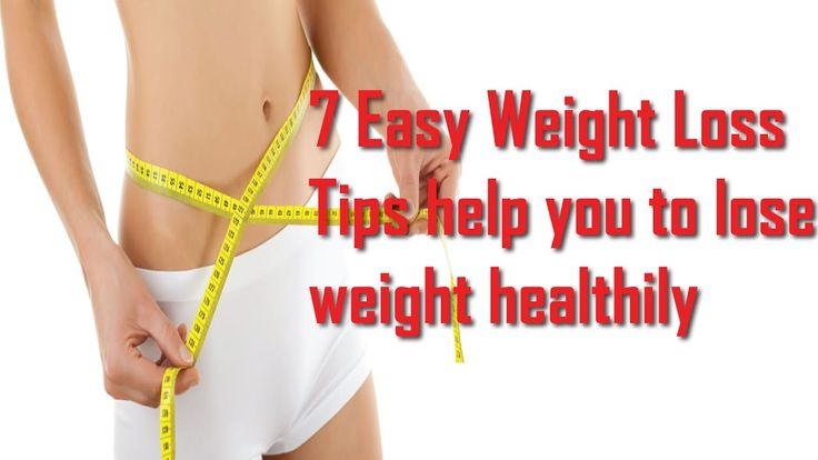 how to lose weight easy tips