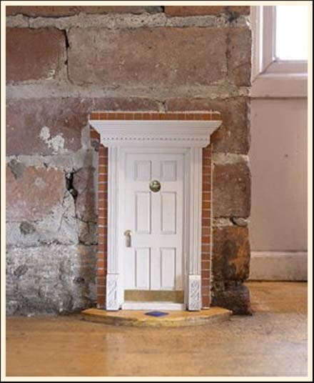 I think this is a pre-made doll house door & 21 best mouse and fairy doors images on Pinterest | Fairies garden ... pezcame.com