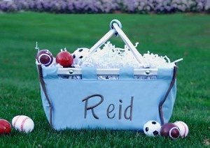 Personalized Easter Baskets for Boys