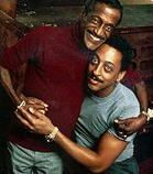 Sammy Davis Jr. was one of Gregory Hines' inspirations, as were the Nicholas Brothers and Bill ``Bojangles'' Robinson. Hines drew on Robinson's style for some of his work in ``Jelly's Last Jam.''