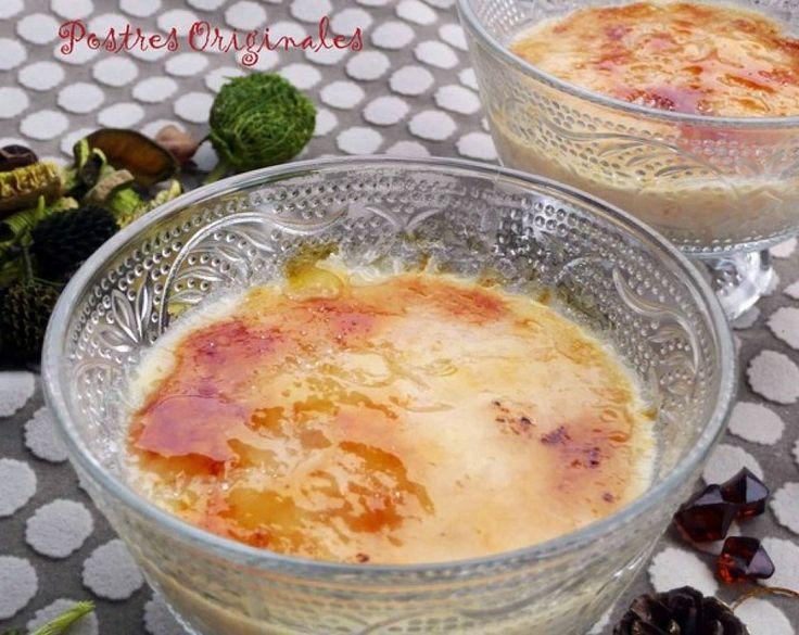 Vídeo: arroz con leche al estilo asturiano con una capa crujiente de azúcar caramelizado