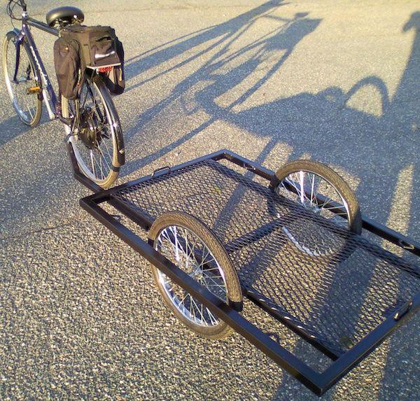 Paul's Heavy Duty Steel Trailer   The Blog of Bike Shop Hub