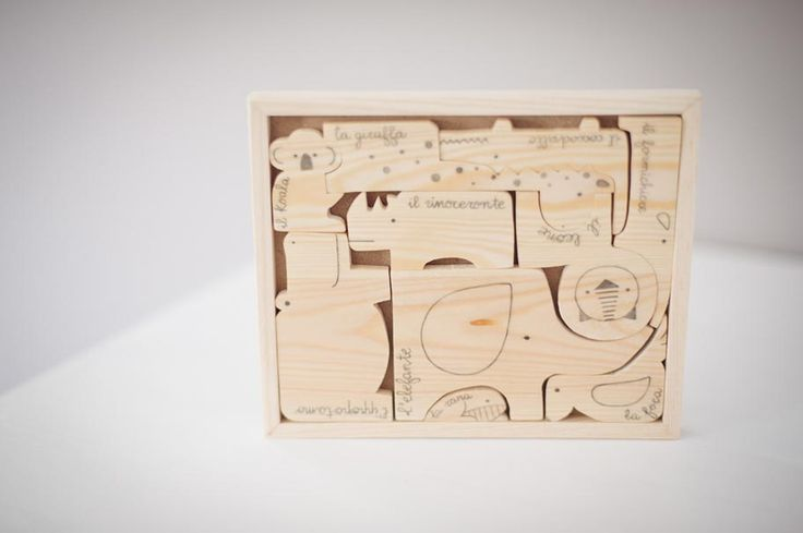 AnDphotography handmade -  A jungle of wooden friends!  <3 wood <3 making toys for your kids!