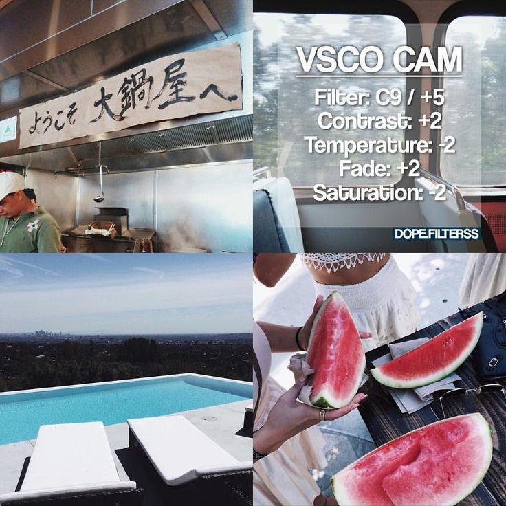 "vsco filters!! on Instagram: ""#C9filterss – summer filter – best used on…"