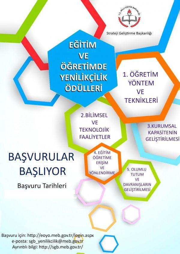 Eğitim ve Öğretimde Yenilikçilik Ödülleri