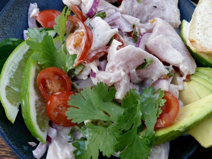 Delicious and Easy Raw Fish Kokoda