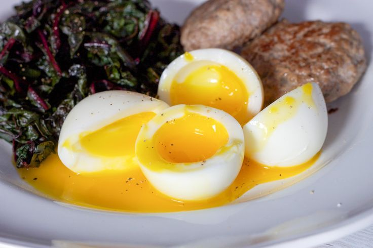 Perfect Soft Boiled Eggs!