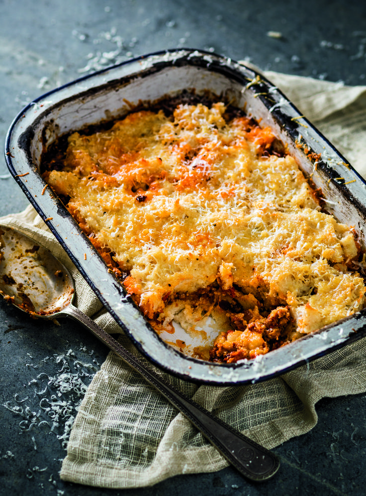 Pap lasagne is a thing & trust us, it's delicious, mnandi, lekker!  Try this South Africa twist on an Italian classic.