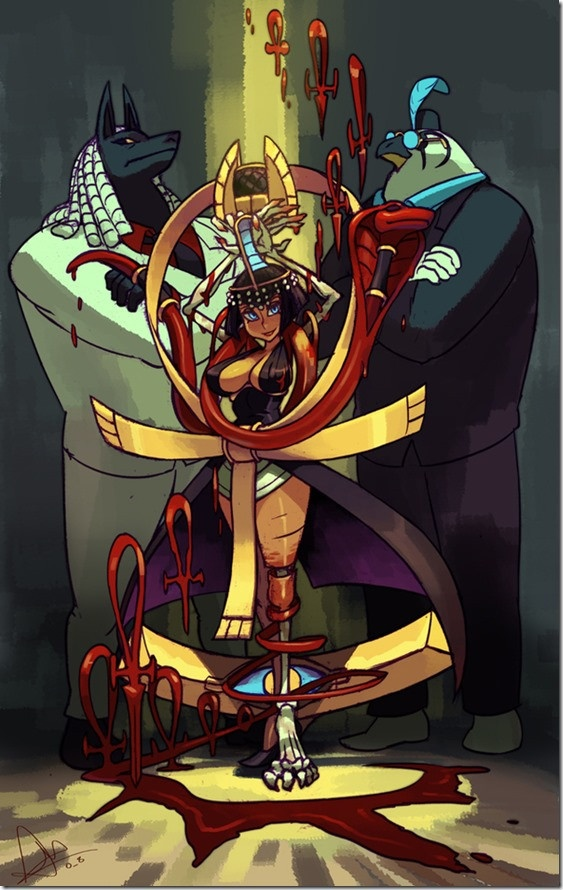 "Crunchyroll - Fans Pick Eliza as Third ""Skullgirls"" DLC Character    Eliza is our new DLC character<3  Would be nice if Beowulf gets picked too but I somehow doubt that.  Still great to hear that Squigly is makin' it to Skullgirls"