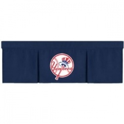 mlb new york yankees valance midnight