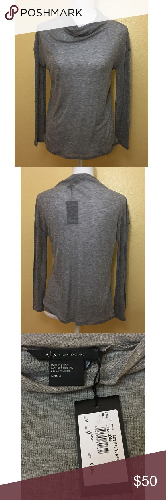 A/X Armani Exchange Top NWT. Never been worn. Perfect condition. No flaws. Size M. A/X Armani Exchange Tops Blouses