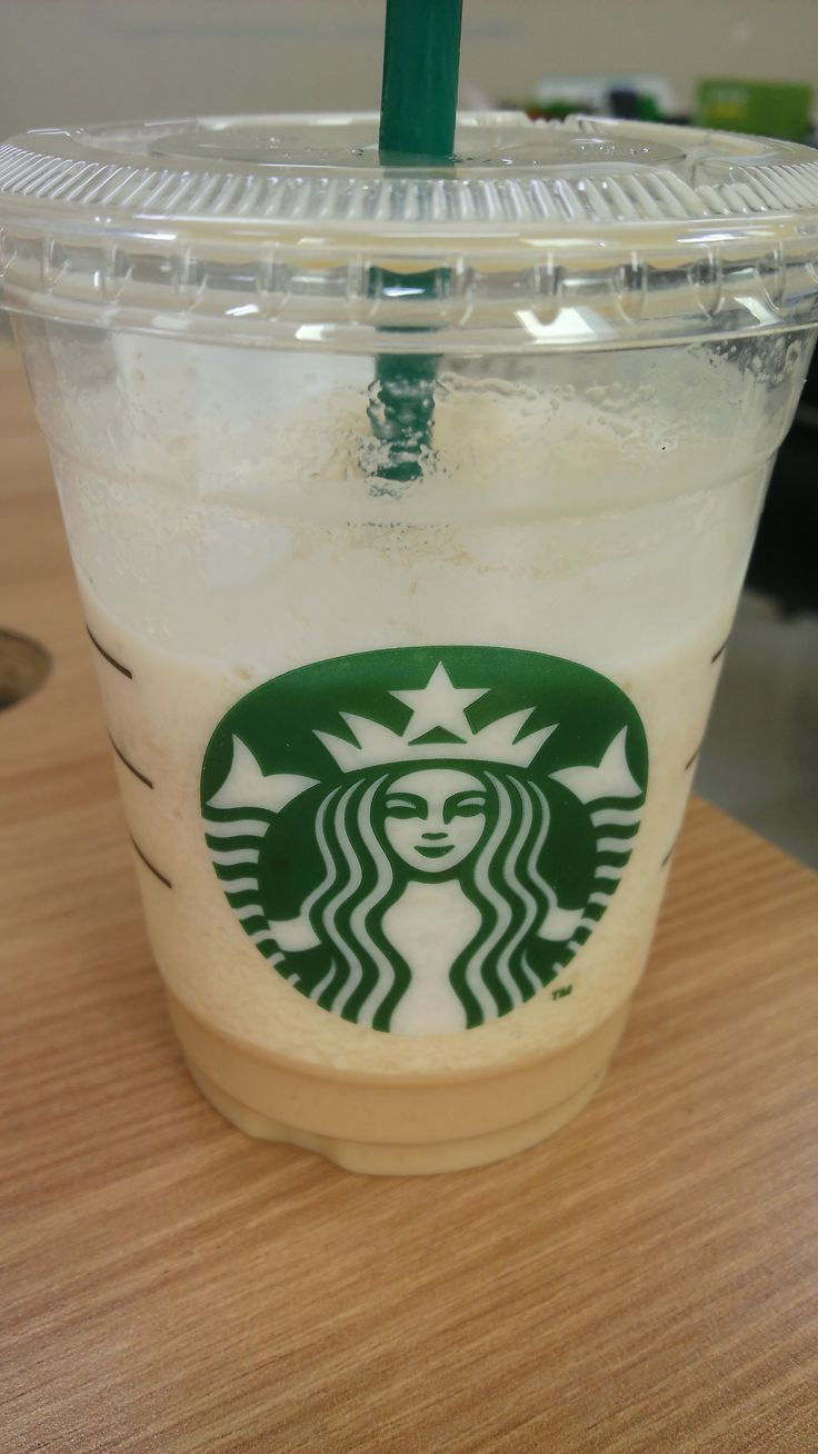 coffee frappucino from starbucks