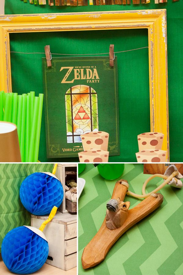 AWESOME Legend of Zelda Birthday Party! You know, in case Erik is a fan too