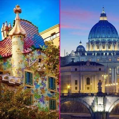 Sonnige Städte! Wo würdet Ihr am liebsten hindüsen: Rom oder Barcelona? http://www.lastminute.de/flug-und-hotel/?lmextid=a1618_180_e301022