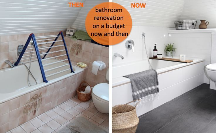 Badezimmer Selbst Renovieren In 2020 Badezimmer Renovieren Badezimmer Gunstig Wc Renovieren