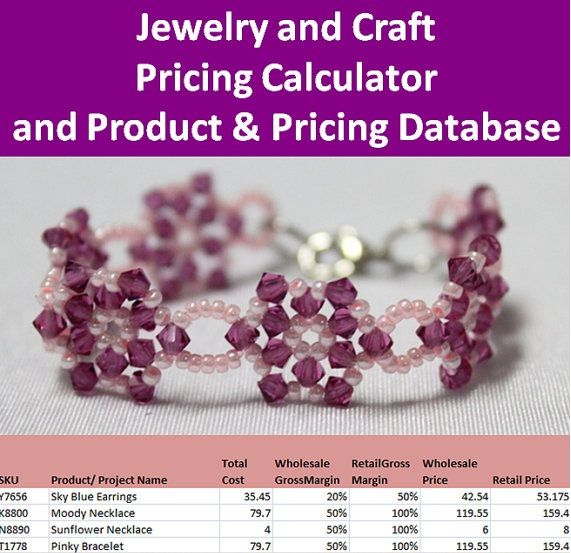 17 Best images about Jewelry Craft Pricing Calculator – Product Pricing Calculator