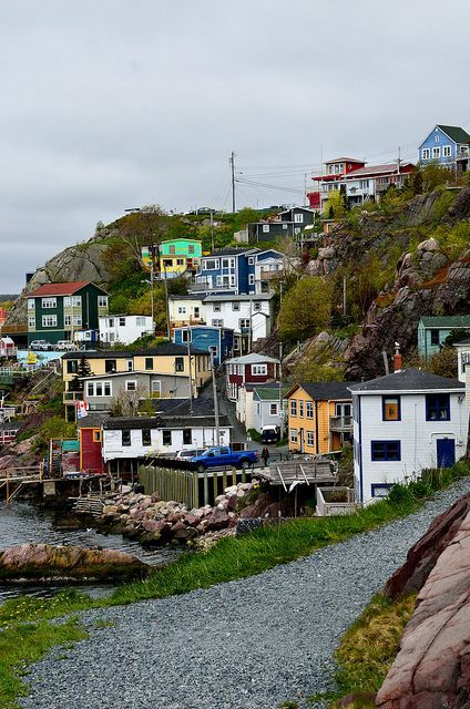 St. John's Newfoundland, Canada. This is Quidi Vidi village
