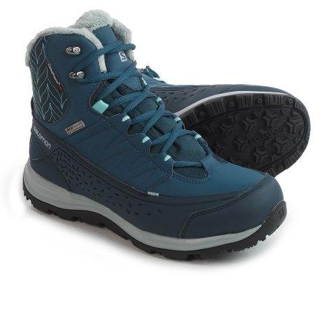 399d1214a85 Salomon Kaina 2 Mid Climashield® Winter Boots - Waterproof ...