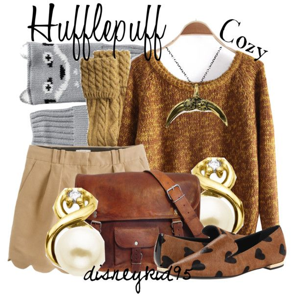 """Hufflepuff"" by disneykid95 on Polyvore"