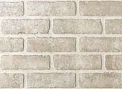 from menards--4x8 panel for 25.99! DPI Brick Wall Panel - Brick Bianco