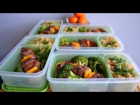 ▶ Bodybuilding & Fitness Meal Prep: Beef Kabobs & Quinoa (Pinchos de Bistec y quinoa) - YouTube
