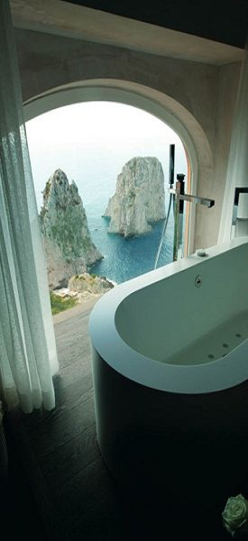 Room with a view ~ Capri, Italy