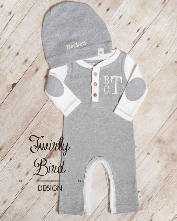 Going Home Outfit Boy Baby Shower Gift Boy by TwirlyBirdDesign