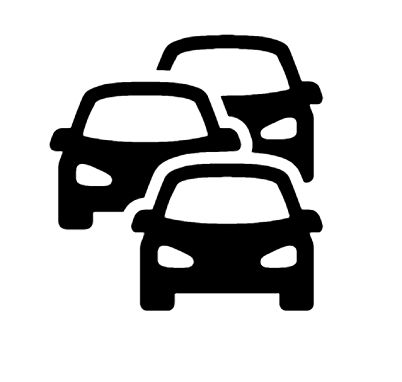 Traffic Jam Icon in Android Style This Traffic Jam icon has Android KitKat style. If you use the icons for Android apps, we recommend using our latest Material Icons icon pack (please check our sidebar on the right). Otherwise, it's a solid icon pack that looks good in small resolutions, either on the web or in print. It's characterized by thick lines, smooth corners, and is optimized for 24x24 pixels.
