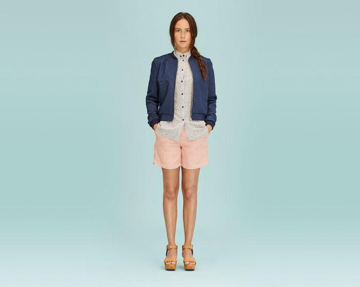 #libertinelibertine #shorts #shirt #jacket #womenswear #fashion  http://www.urbag.cz/damske-obleceni-libertine-libertine-jaro-leto-2014/