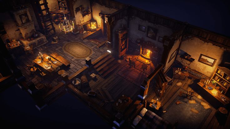 Top-down Fantasy Interior Pack, 제작자 Victor Kudryashov, 카테고리 Environments - UE4…