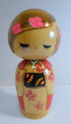 I have this exact darling kokeshi doll! I received it as a gift when I was a little girl. ~ La