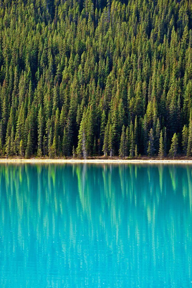 Bow Lake in Alberta, Canada.