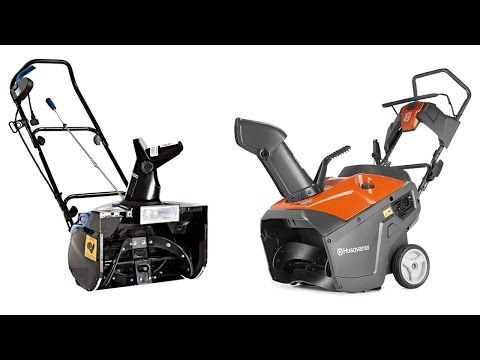 Top 10 Best Snow Blowers Reviews In 2016, Best Electric Snowblower for t...