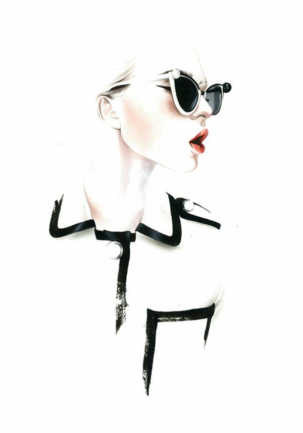 Ilustraciones de Moda de António Soares