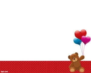 Toy Bear PowerPoint template is a free Teddy background for PowerPoint that you can use for presentations