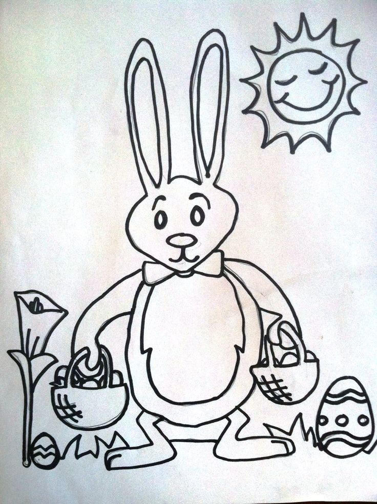 Scribble Drawing For Kids : Best images about easter on pinterest happy