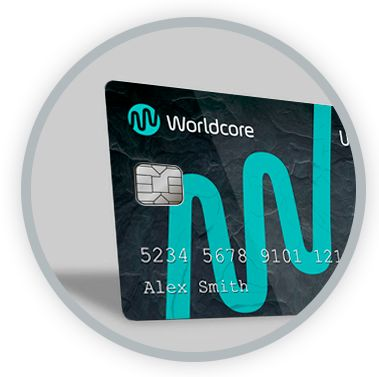 Worldcore announces prepaid Ultimate Card with industry-leading ATM limit of 4,000 Eur per day and 120,000 Eur per month. #card #atm #prepaidcard #mastercard #worldcore