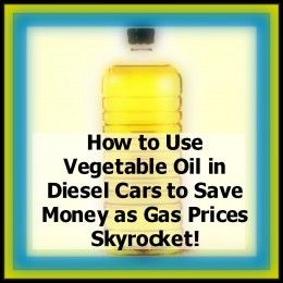 cooking oil and fuel for car use essay Learn how to make your own biodiesel from cooking or vegetable oil with how to make biodiesel from vegetable oil the best type of gas for your car.