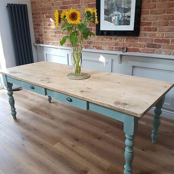 32++ Blue farm table type
