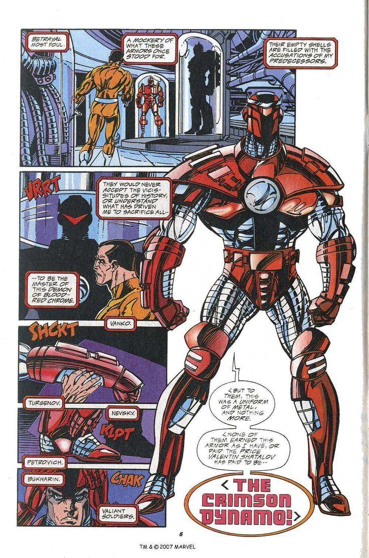 crimson dynamo Crimson dynamo, Marvel comics, Comic book
