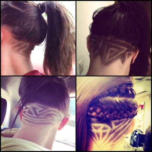 Hair tattoo undercut starting low ending nice and high for Shave before tattoo