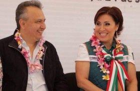 Rosario Robles y  Héctor Pablo, utlizan recursos federales para actos políticos