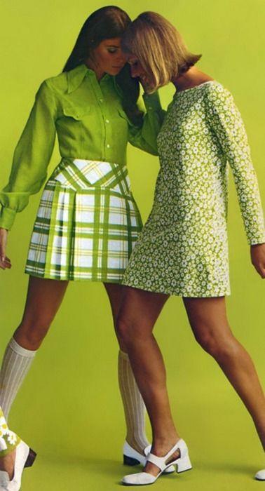 Mini jupes 1960