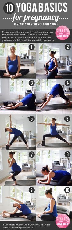 [10 YOGA BASICS FOR PREGNANCY] Try these 10 yoga basics for pregnancy, even if you've never done yoga!