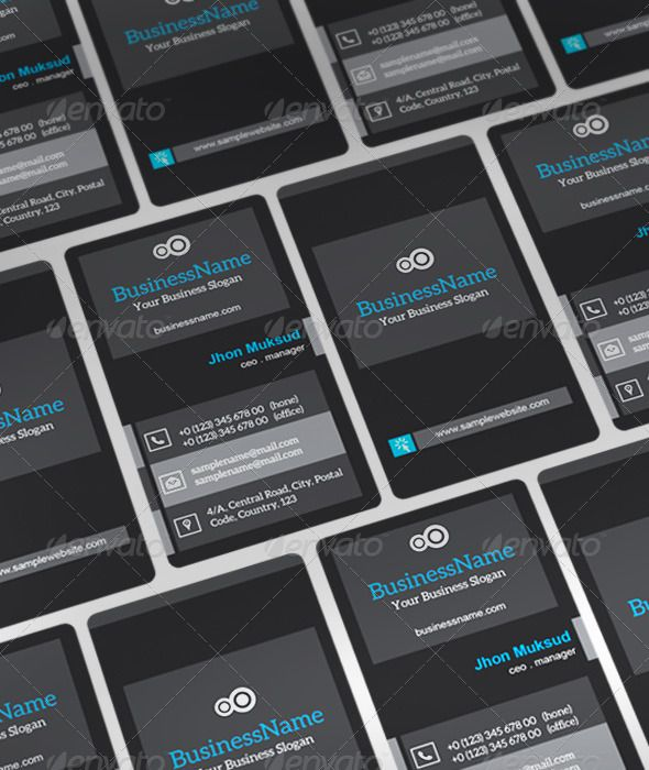 Black Boy Business Card: Black Boy is name of my Business card design. It is very nice looking. EPS and AI Format, software use Ad