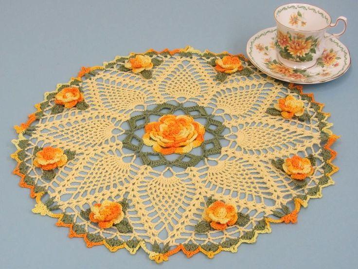 1297 Best Crochet Doily Images On Pinterest Crocheting Patterns