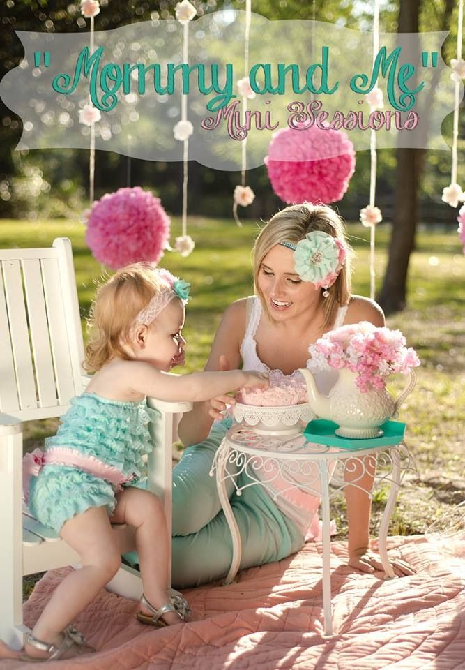 Photos By Kaydee Mommy Me Mini Session Tea Party Family