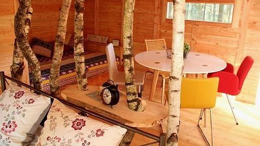 Cabaña Hontza en árbol