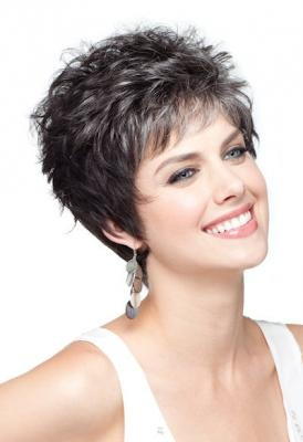 @Susan Narveson Short, precision cut layers, looks like your haircut